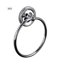 3102 Towel Ring - Chrome