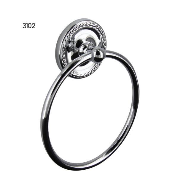 3102 Towel Ring - Chrome